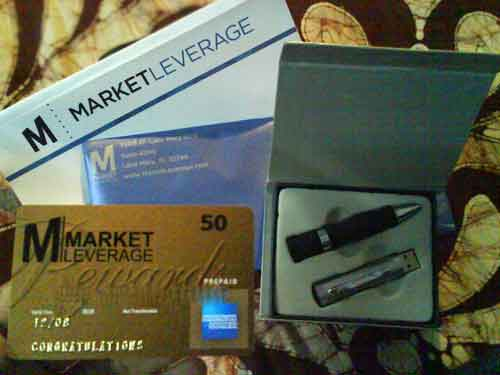 The gifts I received from Market Leverage